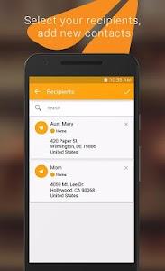 Spletter - send mail & photos screenshot 2