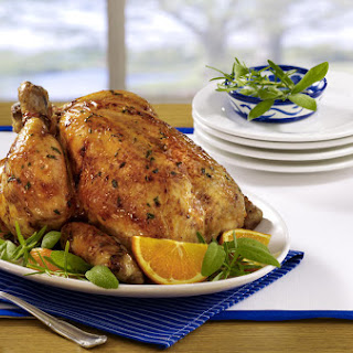 Orange Sage Roast Chicken