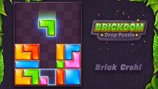 Download Brickdom - Drop Puzzle For PC Windows and Mac apk screenshot 7