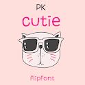 Pkcutie™ Latin FlipFont icon