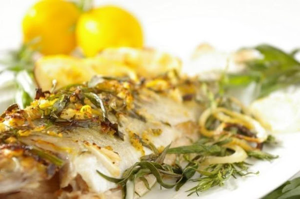 Herbed Trout With Lemon Butter Recipe
