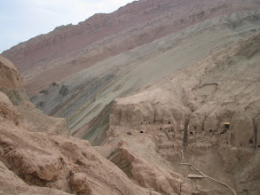 Photo: This is outside Tulufan (Turpan), Xinjiang. The photo is level by the way, not artfully askew.