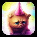Birthday Kitty Live wallpaper icon