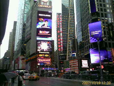 Times Square - Where the ball drops each year