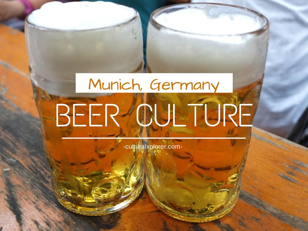 Beer Munich Germany