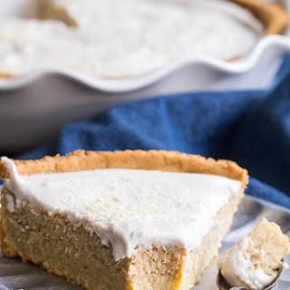 Coconut Custard Pie {Paleo, Dairy Free}.