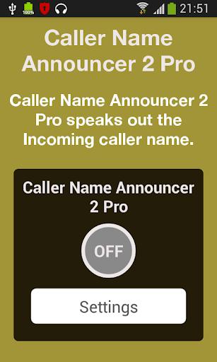 Caller Name Announcer 2 Pro