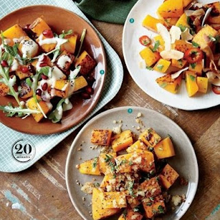 Weight Watchers Roasted Butternut Squash With Pecans And Sage