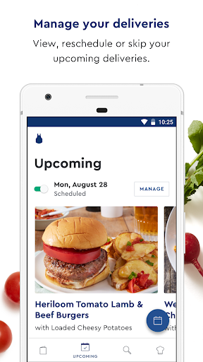 Screenshot for Blue Apron in United States Play Store