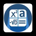 Quadratic equation and details icon