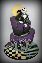 Photo: Nightmare Before Christmas Topsy Turvy Cake by DonnaMakesCakes (7/3/2012) View cake details here: http://cakesdecor.com/cakes/20376