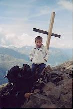 Photo: Santi en la cima del Wurmkogel (3.082 m)(Tirol) (Austria)