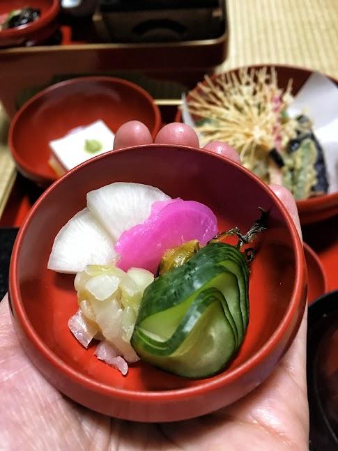 Koyasan, Daimyooin, kolacja