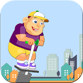 Pogo Stick: Fat Boy Jump