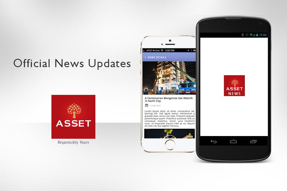 Asset Homes News Application- screenshot