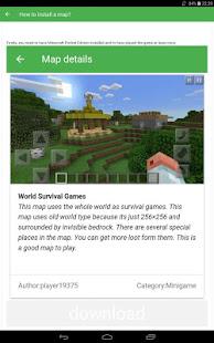 App Maps for Minecraft PE APK for Windows Phone