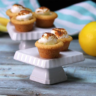 Lemon Meringue Cookie Cups Are the Best Creamy-Crumbly Blend