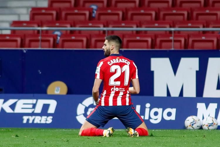 Yannick Carrasco klaar om zijn rentree te maken tegen Granada
