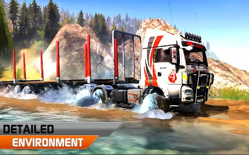 Offroad truck driver 4X4 cargo truck Drive 3D 1.0.8 screenshots 1