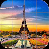 Tile Puzzle - France
