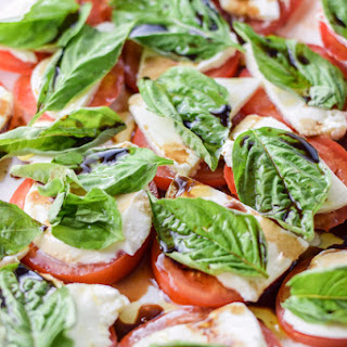 Scrumptious and Simple Caprese Salad