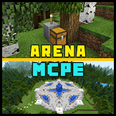 Arena Map for Minecraft PE