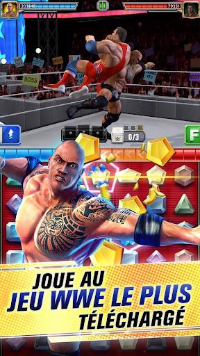 WWE Champions 2019 - Jeu de rôle et puzzle gratuit astuce APK MOD capture d'écran 1