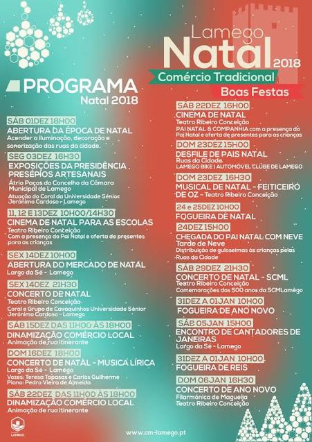 Programa Natal 2018 - Lamego