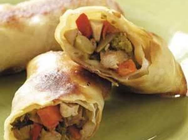 Baked Egg Rolls Recipe