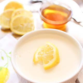 Honey Lemon Custard For One.