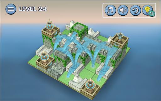 Flow Water Fountain 3D Puzzle Screenshots 13