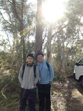 Photo: Day 11: Posing before bushwalking