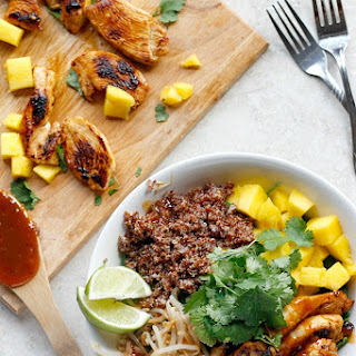 Thai Chicken Coconut Quinoa Bowls