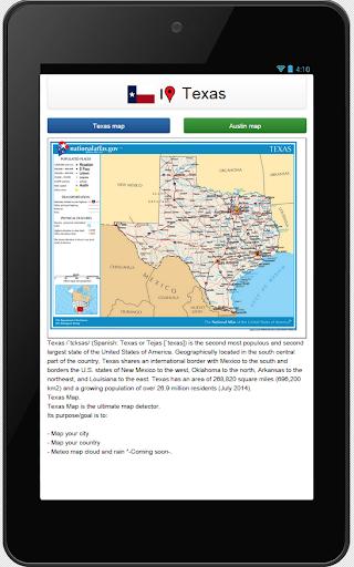 Texas map  screenshots 2