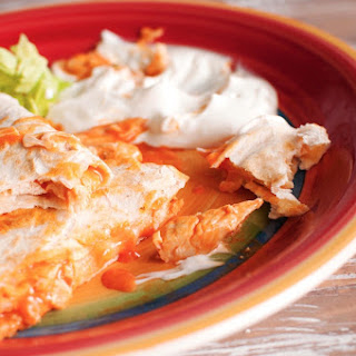 Hot & Saucy Buffalo Chicken Quesadillas