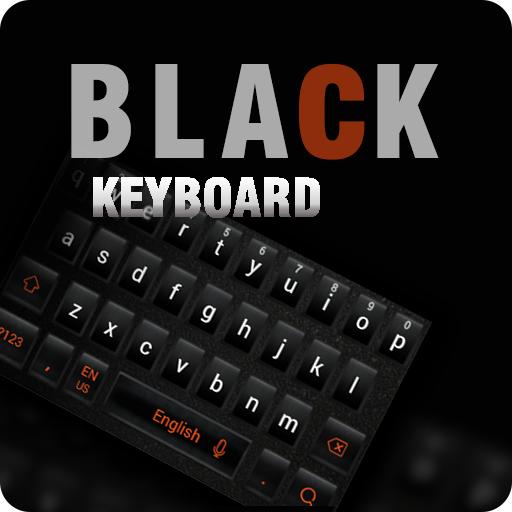 Dark Black Keyboard