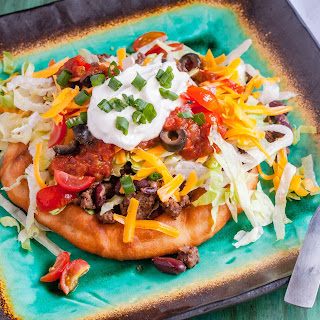 Indian Fry Bread Tacos.
