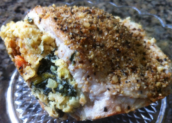 Savory Stuffed Pork Chop Recipe