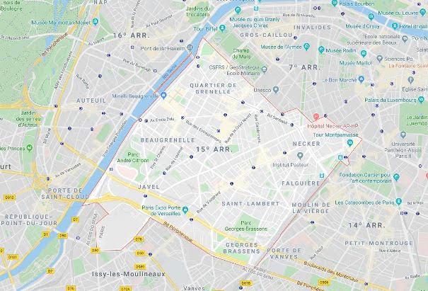 15º arrondissement de Vaugirard
