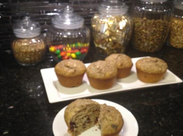 Sugarless All-bran Muffins Recipe