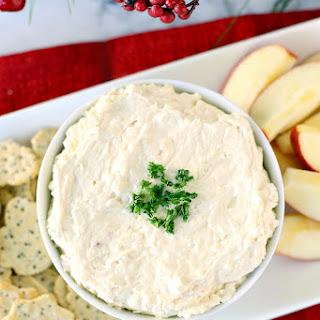 Apple Cinnamon Cheddar Cheese Dip.