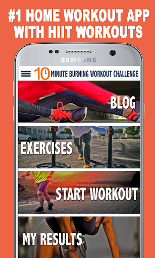 10 Minute Burning Workout - Full Body Workouts screenshot 1