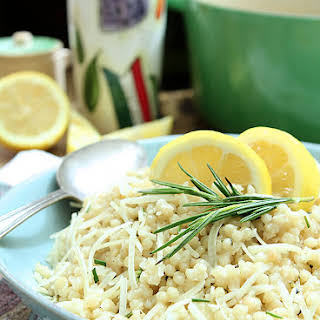 Rosemary and Parmesan Israeli Couscous.