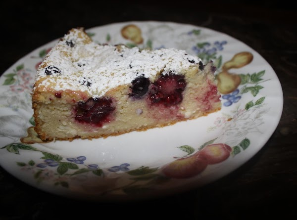 Light Blackberry Cheescake Recipe