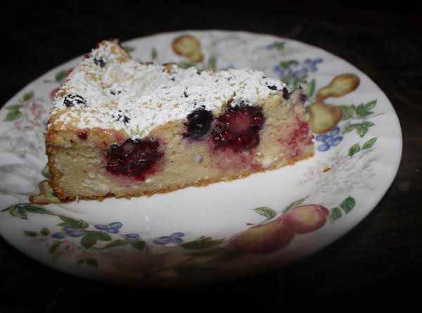 Light Blackberry Cheescake Recipe