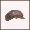 毛織の帽子