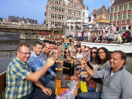 Unieke boottocht in Gent