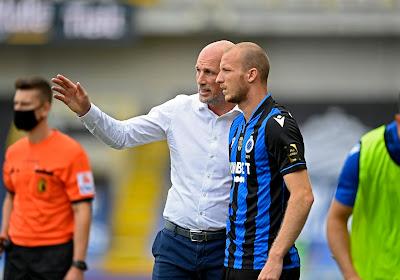 Marc Degryse ziet dat de aanvallers van Club Brugge met een vertrouwensdip kampen