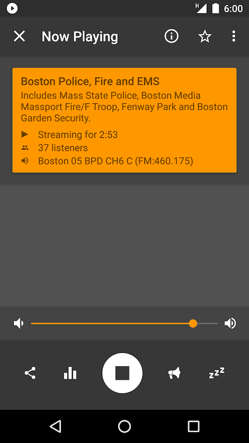 Scanner Radio Pro- screenshot