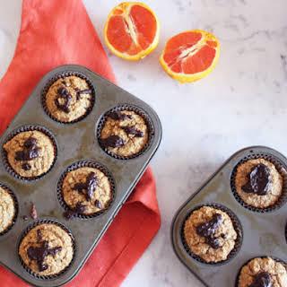 Orange & Banana Oatmeal Muffins.